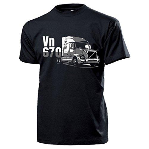 Vn 670 Truck Zweden vrachtwagen trekker vrachtwagen brummi roadtrain T-shirt #17617