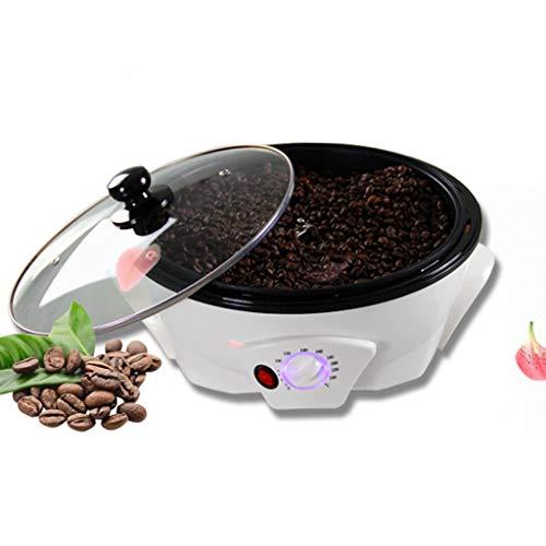 Fikujap Tostador de Grano de café, máquina de Tostado de Frijol de café eléctrico, máquina para Hornear para el hogar, para Cocina Familiar Comedor