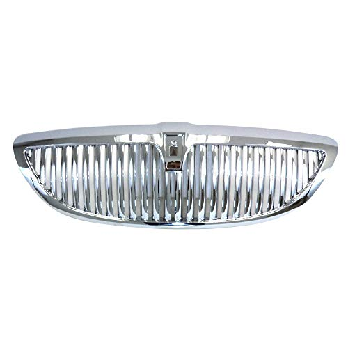 Perfit Liner New Replacement Parts Front Chrome Grille Compatible With LINCOLN Town Car 03-11 EXCEPT LIMITED EDITION Fits FO1200403 6W1Z8200AA