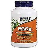 Now Foods Egcg Extracto De Te Verde, 400Mg 180 Unidades 160 g