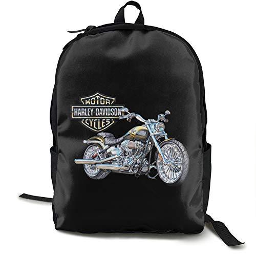 Poyxiya Harley Davidson Zaino Zaino Zaino Zaino per School Work and Uni Sports Zaino e School Bag