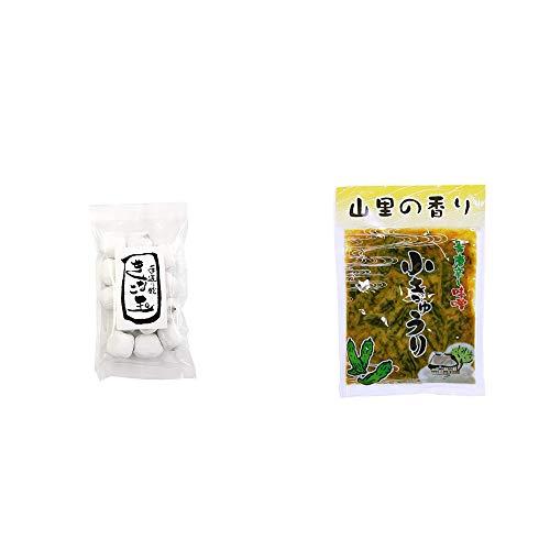 [2点セット] きなこ玉(160g)・山里の香り 青唐辛し味噌 小きゅうり(250g)