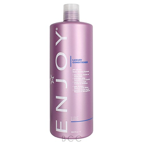 ENJOY Luxury Conditioner (33.8 OZ) – Smooth, Soft, Silky Hair Conditioner with Moisturizing Formula