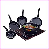 Flixbloom Perfect Collections Set of 5 Pcs Induction Base Induction Bottom Cookware Set