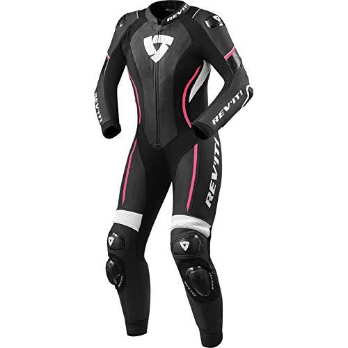 Revit Xena 3 1-Teiler Damen Motorrad Lederkombi Schwarz/Weiß/Pink 40
