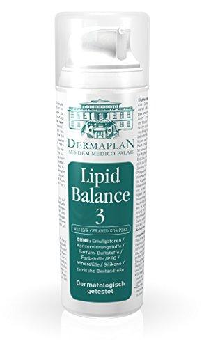 Dermaplan Lipid Balance 3 | sensible & trockene Haut effektiv lindern | Haut-Creme bei strapazierter & gereizter Haut | Neurodermitis | Psoriasis | feuchtigkeitsspendend | 100% Vegan, 150 ml