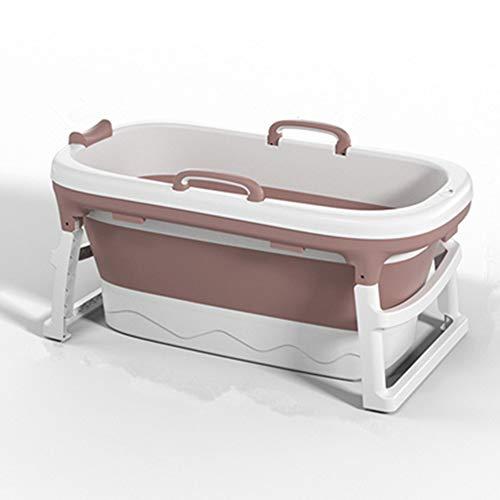Opvouwbare babybadkuip, huishoudelijke plastic spa-bademmer Anti, opvouwbare draagbare douchebak met antislipmat, opbergsleuf, ligpositie voor baby