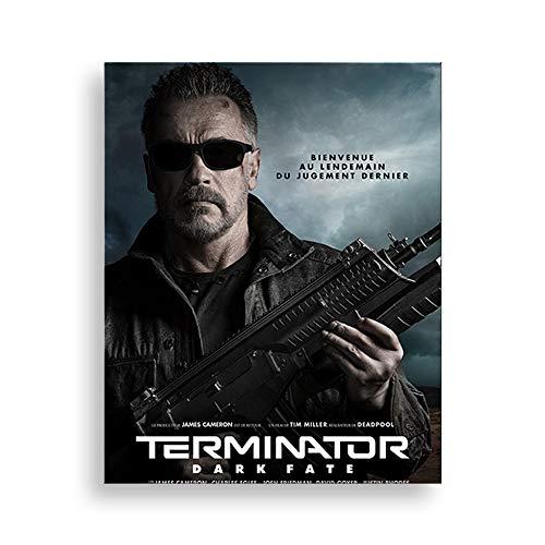 5D DIY Diamond Painting Terminator: Dark Fate 30 * 40cm Bordado de cristal punto de cruz rhinestone mosaico dibujo arte artesanía decoración de la pared del hogar Terminator T800