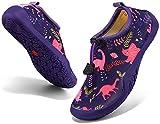 KVbabby Water Shoes for Kids Quick Dry Aqua Socks Non-Slip Swim Barefoot Sports Shoes Beach Sandals for Boys Girls Toddler