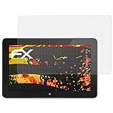 atFolix Panzerfolie kompatibel mit Dell Venue 11 Pro Schutzfolie, entspiegelnde & stoßdämpfende FX Folie (2X)