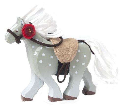 Le Toy Van - Caballo con Silla de Montar, Color Gris