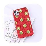 Dibujos animados verano fruta moda diseño lujo teléfono móvil caso caramelo color para iPhone 6 7 8 11 12 s mini pro X XS XR MAX Plus-a3-iPhone11