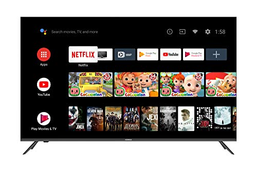 Konka 55-Inch Class Q7 Pro Series 4K Quantum Dot QLED Smart TV with Android TV and Voice Remote (55Q75A, 2020 Model)