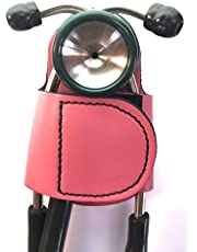 The BATCLIP – Soporte de cadera de estetoscopio hecho a mano de piel de primera calidad; no más transporte de cuello, pérdida o desplazamiento. Lleva con orgullo tu estetoscopio de alta gama con gusto y estilo.