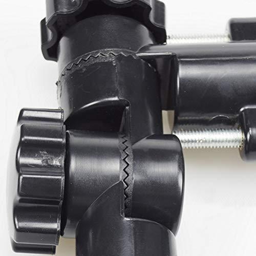 LIOOBO Universal Schirmständer Fixed Frame Schirmhalter Flash Bracket Adapter (Schwarz) - 6