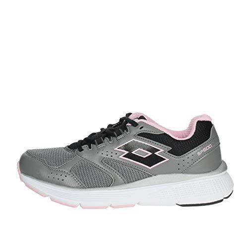 Zapatillas Running Mujer LOTTO SPEEDRIDE 600 Vi W. 211828. Gray/Pink. Talla 39