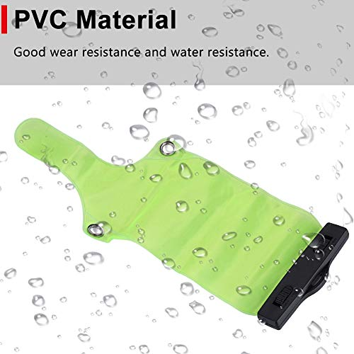 Lantuqib Bolsa de Caja, Clip de ABS 2PCS Bolsa de Radio portátil Material de PVC para Walkie Talkie UV5R / UV82 / BF-888S