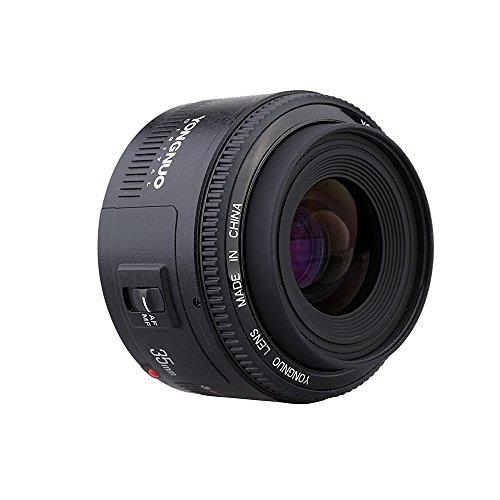 YONGNUO 35 mm F2-lens 1: 2 AF / MF groothoek vaste / prime autofocuslens voor Canon EF-montage EOS-camera's WINGONEER flitsdiffusor