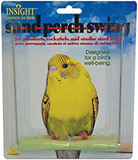 JW Pet Company Insight Sand Perch Swing Bird Toy