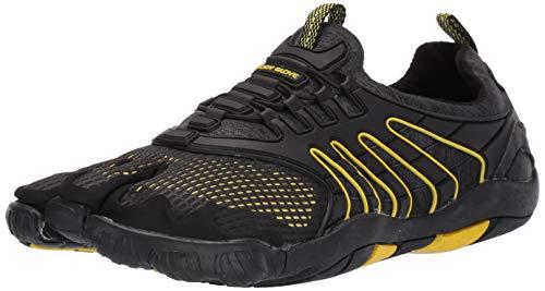 Body Glove mens Water Shoe, Black/Yellow, 11 US
