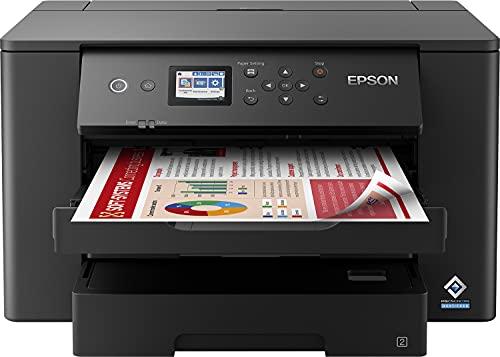 Epson Workforce WF-7310DTW | Impresora A3+ WiFi con Impresión Doble Cara Automática (Dúplex) ⭐
