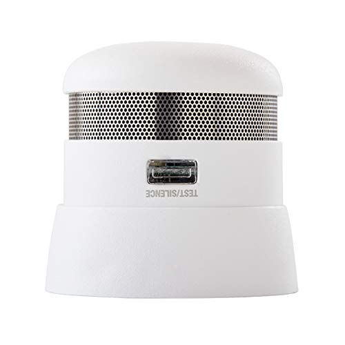 First Alert Photoelectric Smoke Detector | 10 Year Sealed Battery Backup P1010
