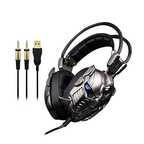 Jumor PC Gaming Headset Auch Für Nintendo Switch, Xbox One & Laptop, 3.5Mm Noise Cancelling Gaming Kopfhörer Mit Mikrofon, Surround Sound System,B