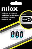 Nilox - Funda para Webcam (3 Unidades), Color Negro