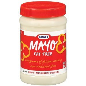 Kraft Foods Mayo Fat Free Mayonnaise Dressing Jars, 15 Oz