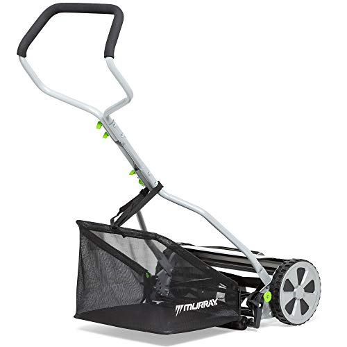 Murray HM400 Hand Push Cylinder Mower, 40 cm (16 Inch) 20 Litre Collection Bag