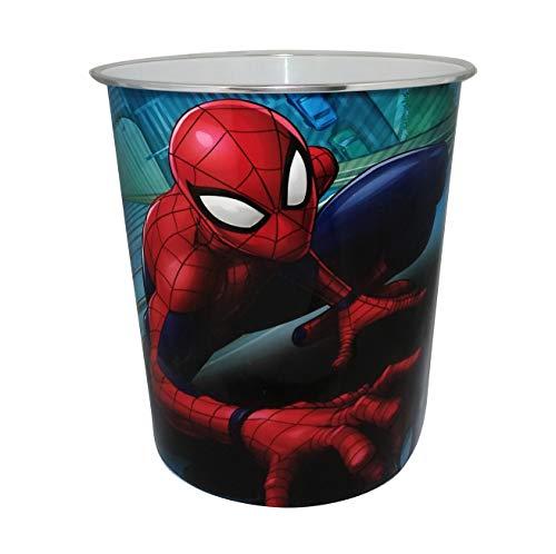 Star Licensing 59484 Korb Spiderman, mehrfarbig, 23,5 x 23,5 x 24 cm