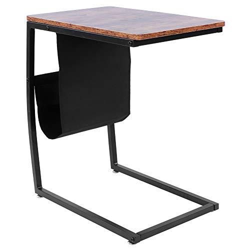 NITRIP End Table, Tea Table U‑shape Side Table, for Office Home