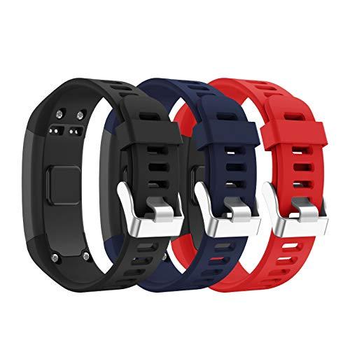 SUPORE Vivosmart HR Activity Tracker Correa de Reloj de Repuesto, Accesorios Correa de Reloj de Silicona Suave Ajustable Reemplazo diseñado para Vivosmart HR Smart Sport Reloj