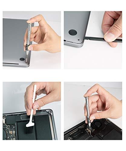 QNINE Schraubendreher Set für Apple MacBook Pro Retina 13/15 Zoll, einschließlich Pentalobe 5, T5, T6, Phillips, Tri-Wing Schraubendreher Reparaturwerkzeug Kit für MacBook Air 11/13 Zoll