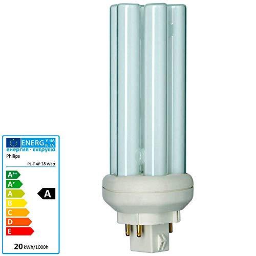 Sylvania Kompaktleuchtstofflampe Mehr-Pack: 5 St/ück Lynx DE Lichtfarbe 840K G24q 4 Pin 10.000 Std 26 W coolwhite Stecksockel