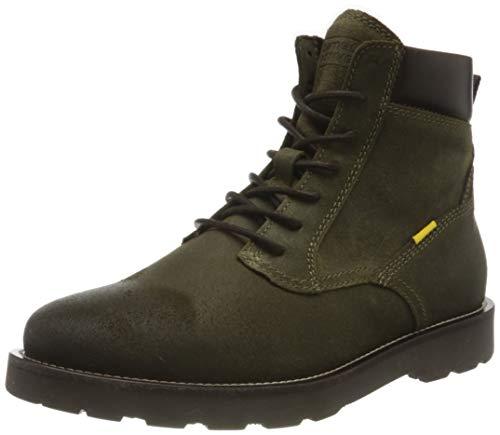 Camel Active Herren ROUTE Mode-Stiefel, Military Green, 41 EU