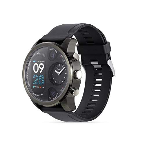 Reloj Inteligente de Banda Alta, Pulsera Inteligente Múltiples Idiomas multifunción, Tarjeta de Seguimiento de la presión sanguínea del sueño