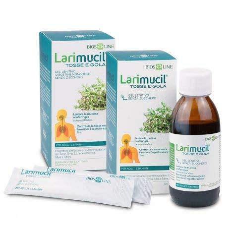 LARIMUCIL TOSSE E GOLA 120 ml