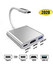2020 最新版 HDMI 変換アダプター 4k 解像度 Sross USB Type-C 変換アダプタ 最新システム対応 放熱対策 小型 幅広い スイッチ ドック 代用品 Nintendo Switch/MacBook Pro/iPad Pro/Samsung Galaxy/Dell XPSに対応