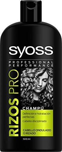 SYOSS - Champú Rizos Pro - Definición e Hidratación - 500