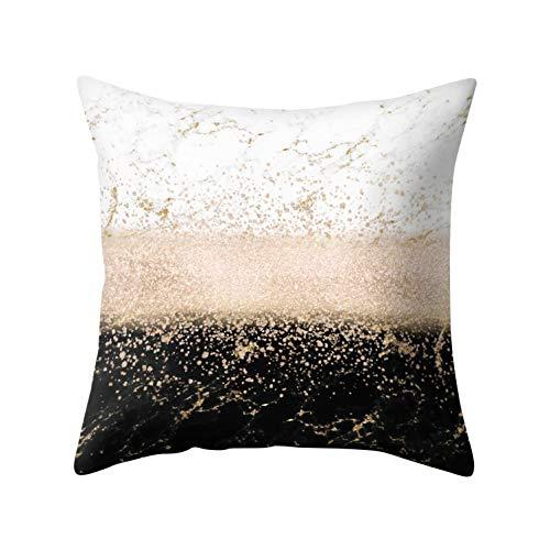 Kalaokei Kissenbezug mit nordischem, geometrischem oder Marmor-Muster, Überwurf, Heimdeko für Bett und Sofa 7#