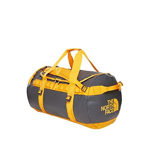THE NORTH FACE Base Camp Duffel-Tasche und Sporttasche, Unisex, Erwachsene, grau/gelb, Größe M