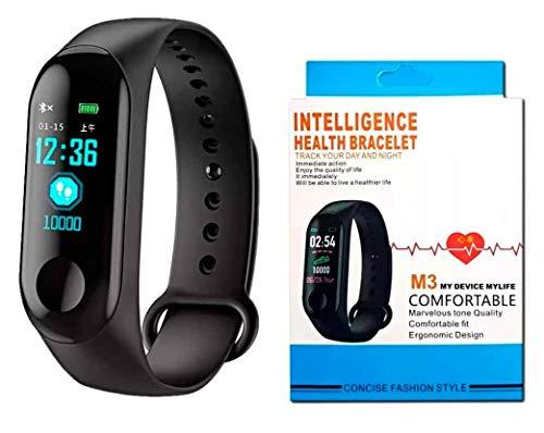 Relogio Fitness Bracelet M3 Health Bluetooth Smart Band