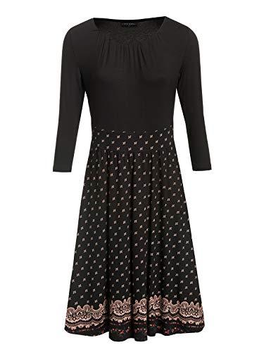 Vive Maria Heidi Forever Dress Black Allover, Größe:XXL