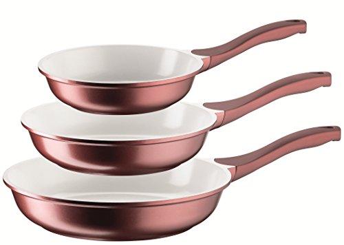 Josef Mäser GmbH, Set di padelle con Rivestimento in Ceramica, 3 pz, 20, 24 e 28 cm