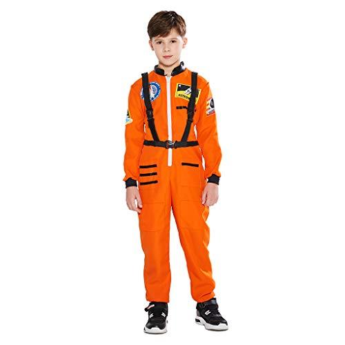 EraSpooky Unisex Astronaut Raumfahrer Kostüm Faschingskostüme Cosplay Halloween Party Karneval Fastnacht Kleidung