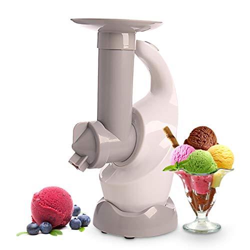 Frozen Dessert Maker, gesund, milchfrei, veganes Eis, Soft Serve Frozen Joghurt, Fruchtsorbet Sherbet-Maschine, einfache One-Push-Bedienung