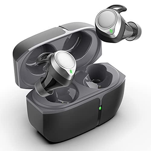 Cuffie Bluetooth 5.1, Sport Auricolari Bluetooth Senza Fili CVC 8.0 Riduzione del Rumore In Ear Cuffie con HD Stereo Microfono, Cuffie Wireless IP7 Impermeabile 48 Ore di Riproduzione, Controllo Touch