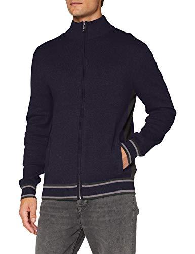 ESPRIT Herren 090EE2I310 Pullover, Blau (402/Navy 3), XS