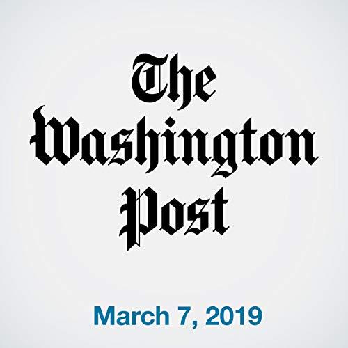 March 7, 2019 copertina